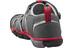 Keen Seacamp II CNX Sandaler Børn grå/rød